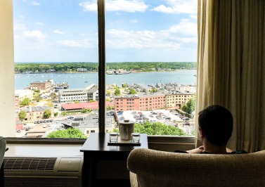 Holiday Inn Portland By the Bay   Things to do in Portland, Maine.