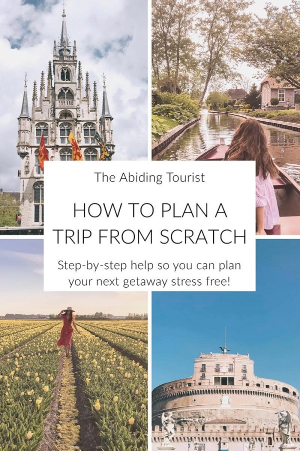 How to plan your next trip stress free! Step-by-step tips I use every time I plan a trip.